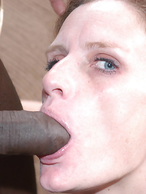 This mama wants to munch on a big black cock