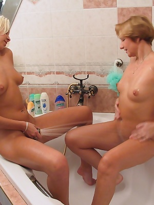 Hot mature lesbian playing with her girlfriend