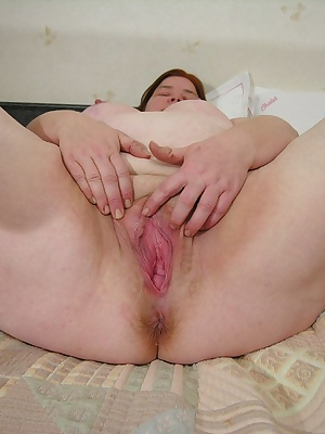 This mature chubby slut has a lot of fun with her rubber friend