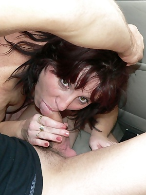 These two guys really love this horny MILF
