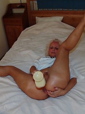 huge dildo in her cunt