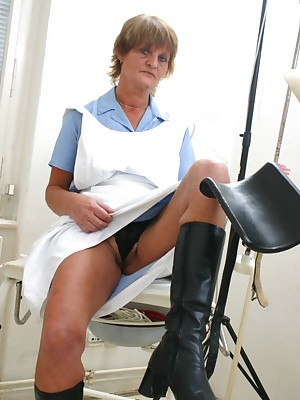 ugly mature nurse gets fucked