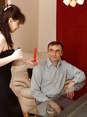 Ira&Patrick pantyhosefucking cute mature housewife