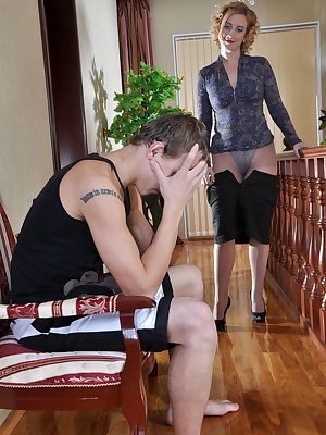 Susanna&Morris pantyhosefucking great mature housewife
