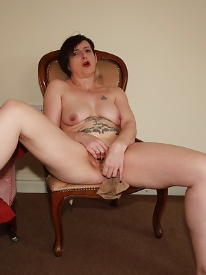 This is one of those magic tricks.Sitting naked on a chair I have an itch in my pussy, lo and behold I discover a pair o