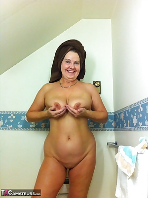 I love getting in the shower and feeling the warm water spray down over my body.... As I soap up and feel the silkiness