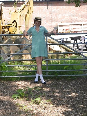 Barby loves dressing up in school uniform and posing for guys to take pictures