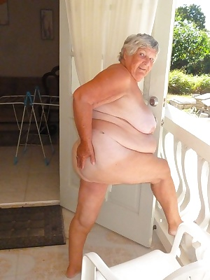 Here is your favourite old BBW Granny enjoying the sunshine in Barbados again.  I start off wearing some clothes not man