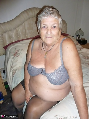Grandma Libby shows you how she achieves that lovely smooth body  Here you see me with a cut throat razor and shaving cr
