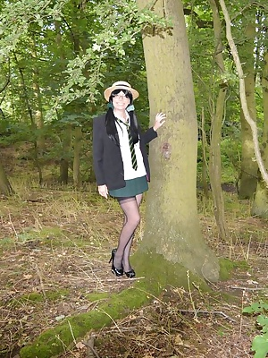 Barby loves being a naughty schoolgirl.