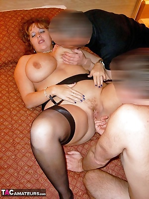 The other guy turned up not long after we'd started having fun, so the 3 some was complete  Claire xx