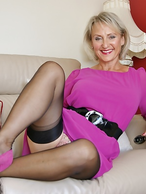 Pretty in pink for this weeks update but later on this week, you get to see a guy spunk into my stockings lots of nice h