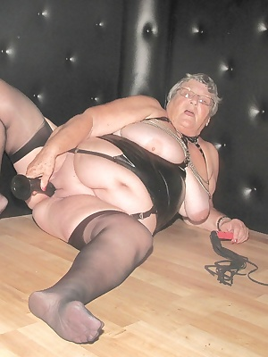 GrandmaLibby in the dungeon.  Do you think I deserve to be punished  All tied up and helpless  who is going to take adva