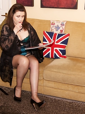 Hi Guys, For This Photoset, I was sitting reading a magazine in not much but my Blue Lacy Lingerie but I was feeling rat