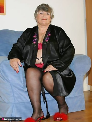 Black satin robe with sexy red satin lingerie under it.  So many guys love satin and I must agree it is very sexy to tou