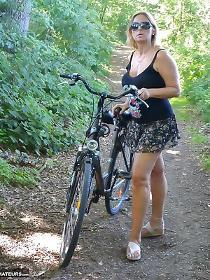 Its not so long ago that the weather was fine. We had 25 degrees and I could do some trips with my bicycle. I love to we