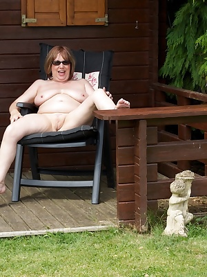Hi Guys Heres a hot set of me naked shot last year in Claire Knights Secluded Garden where we spent quite a few days hav