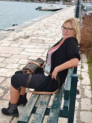 Here I will show You my newest gallery of my nudist-holidays in greece. You can recognize that I never wear a panty unde