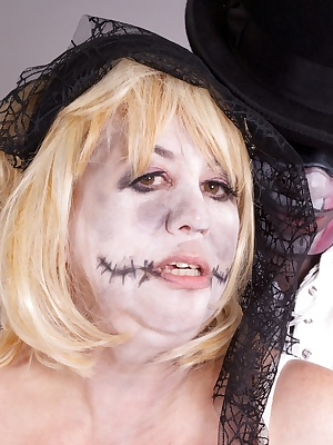 Hi Guys Part Two of me as The Zombie Bride and time for some Hot action as Im stripped off and Given a good Fucking Zomb