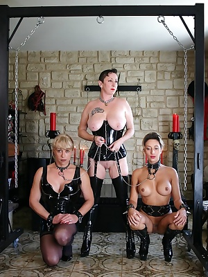 In this photo sets, I'm Mistress of 2 beautiful slaves