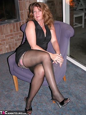 Devlynn was much hotter than the fireplace she was sitting by. Add to that a hot pair of CFM heels and some devilish ima