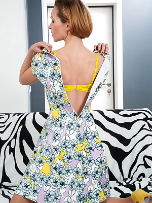 Slipping out of her bra and thong and getting it on with her hairy fuck hole is second nature to Alice Wonder. The 31 year old Russian is a cum craving hottie who never seems to be sexually sated. Enjoy the show as she spreads and seduces her lusty trimme
