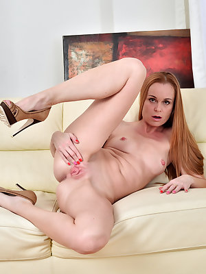 If you're looking for an all natural housewife, look no further than Nica. This lusty cougar is always ready for a good time, flipping up her miniskirt to show off her ass and soft wet cunt, and then taking her time getting undressed and warming her bounc