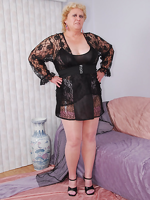 How do you like my black chemise I like how the sheer lacy side panels show a glimpse of what's underneath, wink. I deci