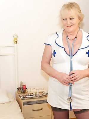 Naughty Nurse Claire is here waiting for you guys to come for your annual check-up, so dont be shy, get your kit off and