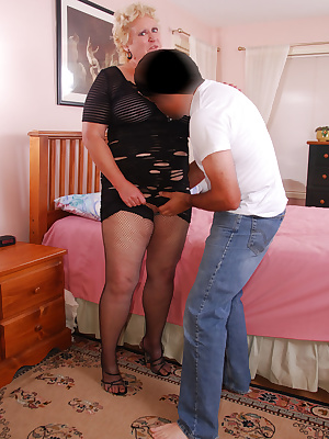 Cum join me on my hot time with Joe. I decide upon the same holey skirt and open bra I wore last week along with a diffe