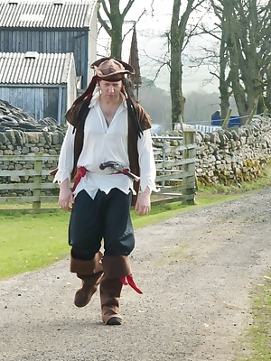Hi Guys, Heres a few Stills shot whilst filming my Pirate movie while up in Cumbria, Trisha and I were two Lusty Wenches