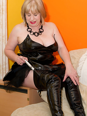 Hi Guys, One of my Site members had a request that I do a shoot in Black PVC smoking a cigar, well I dont Smoke, but he