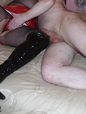 sometimes, well quite a lot i get a real kinky guy who wants me in lovely pvc so he can come and play with me, well of c