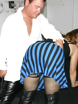 Blue Eyes the Pirate gave his Wench a very delicious little spanking, all over  But, the spanking he got on his wonderfu
