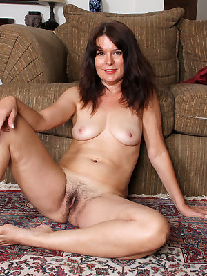 52 year old Shelby Ray knows that a woman is never too old to play with toys. She slips her clothes off and goes to town pinching her hips and squeezing her all naturals, but the party truly starts when this cock craving cougar pushes a vibrating toy deep