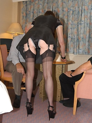 Beth the Maid I bet you wished every maid was like this I bring in the coffee, say Hi, take out the guys cocks and give