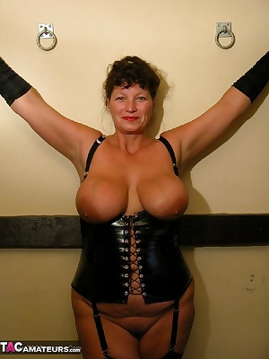 John my hubby wanted to take these photos for my Mistress Kim film, i like dressing up in leather  pvc. I also love my c