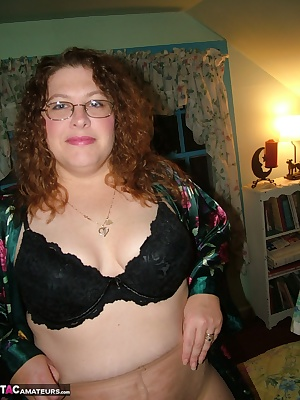 I was getting dressed up for a nice night out with hubby and got into a new pair of stockings something I do not get a c