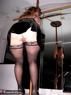A pole, some sluttish clothes, and an eager fan to get it all on film I think Ill do that again. Kisses, Devlynn