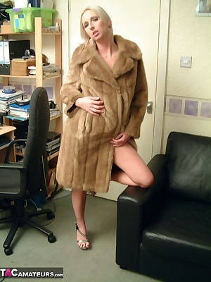 My sugar daddy Freddie, bought me a new fur coat. I expect he wants to arse fuck me for it, but I dont mind, in fact I b