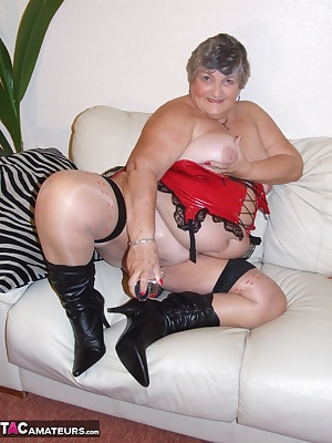 A member sent me some very attractive hold-up stockings and asked me to do some do a photo set wearing them.  Another me