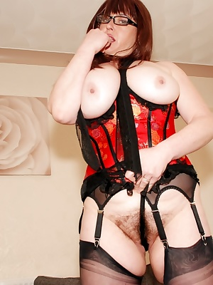 I enjoyed having a smoke so much in my red hot corset and felt so relaxed that I just had to have another smoke. I'd run