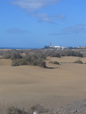 In march 2016 I did a trip to Maspalomas  Gran Canaria. It was a nudist-holiday. I went to the beach every day and I cou