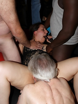 When Im around party never stops. There is nothing better than a hardcore gangbang to get the stress our from a boring d