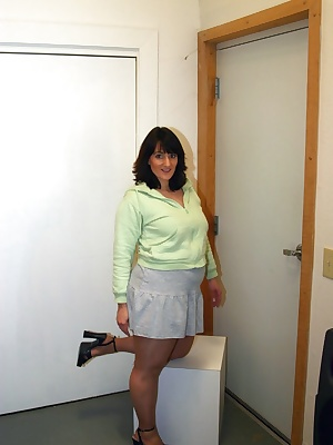 I found these perfect panties and I wore them to the office. I was going to be a good girl that day and keep my skirt do