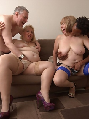 We all got undressed and began playing Dick soon had my bra and pants  off licking my pierced nipplesto make them hard..