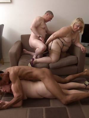 I was joined by Speedybe Dick and Leks we were having some afternoon sex in Leks apartment, his sofa was small and we en