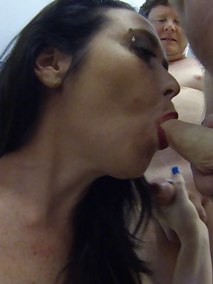 Tempest, Sookie and Saskia suck and fuck in an amateur gangbang.  Watch them fuck doggy, cowgirl, missionary and then su