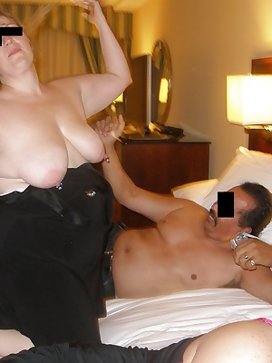 This set finds our constant heroine, GangBangMomma aka South Texas Cock Lover or STCL, once more pinned down in a swanky
