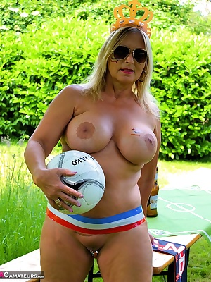 Of course I will watch the matches of the football championship. I will do this nude in my garden. Perhaps I will visit